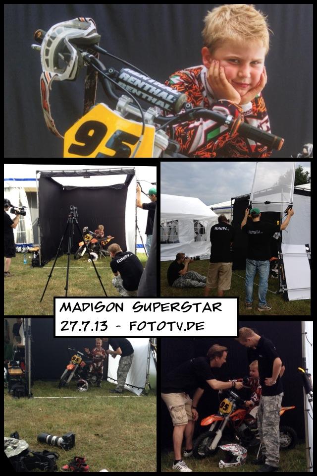 Madison an der fotoTV.de Fotochallenge in Wisskirchen 27.7.13
