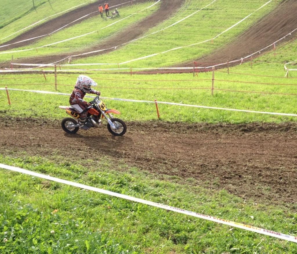 Madison at Race :-)