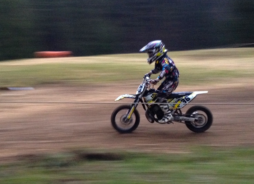 Madox is racing
