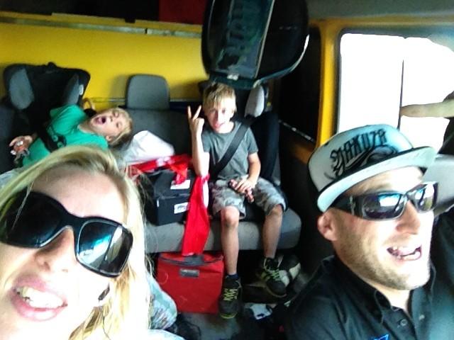 Weiterfahrt nach Belgien