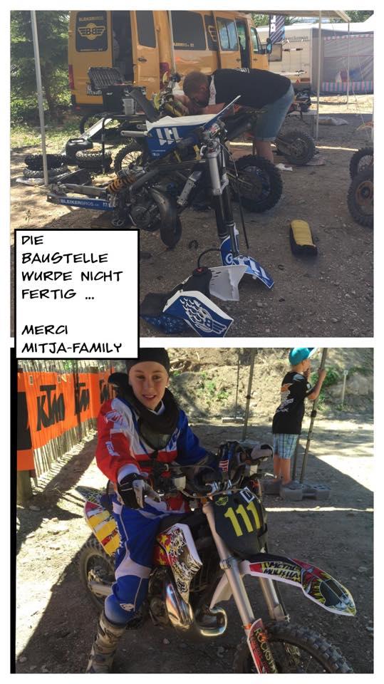 Renntag 1: 3 Läufe - 3 verschiedene Motorräder für Madox... ungewollt
